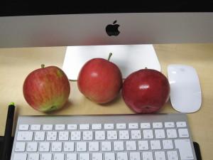 アップル社のロゴになった林檎1